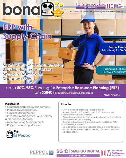 Package E42 - BonaERP Peppol Ready with Supply Chain