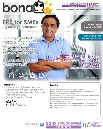 Package E30 - BonaERP Peppol Ready for SMEs